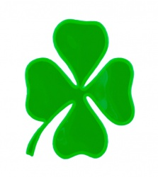 Reflective Sticker (cloverleaf pack of 5)