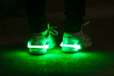 LED Shoe Clip Light (white)