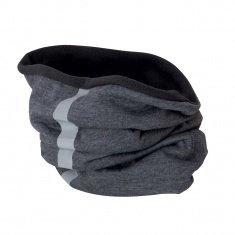 Reflective Fleece Neck Warmer (grey highlights)