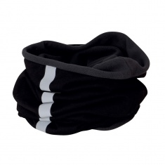Reflective Fleece Neck Warmer (black)
