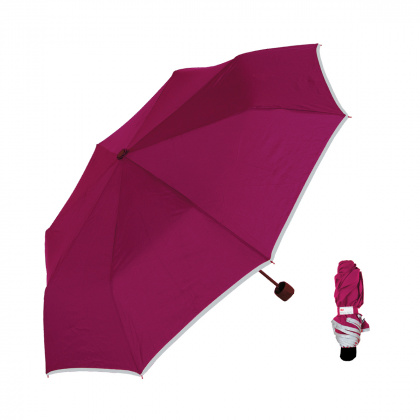 3M Reflective Umbrella (burgundy)