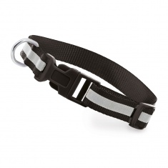 Reflective Dog Collar (black)