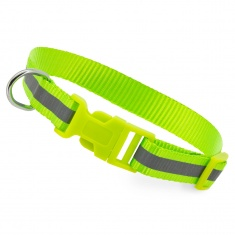 Reflective Dog Collar (yellow-green)